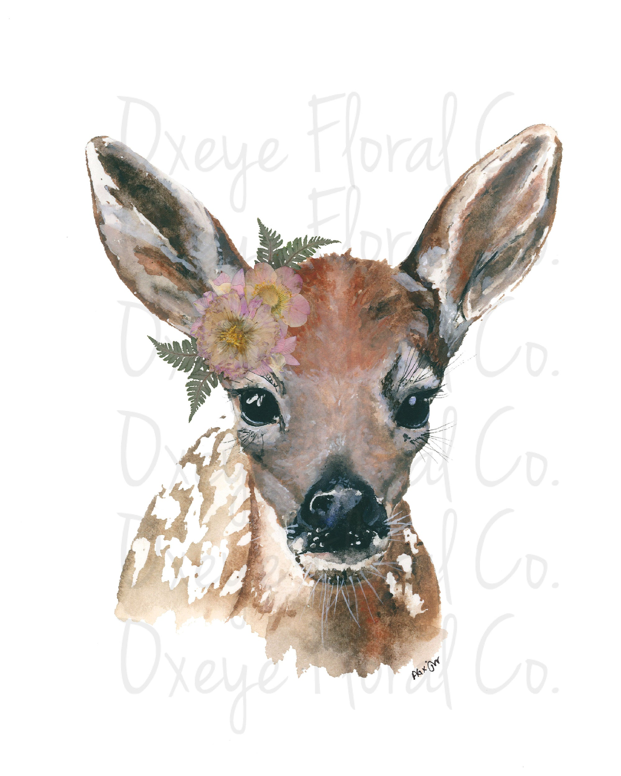 Lady Fawn (by day) Print