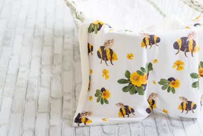 Bumble Bee Baby Blankets