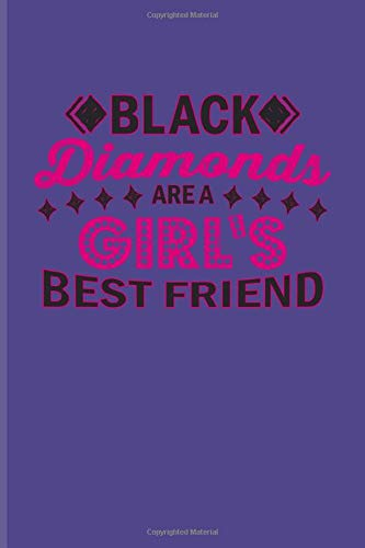 Black Diamonds Are A Girl's Best Friend: Funny Poker Quotes Undated Planner | Weekly & Monthly No Year Pocket Calendar | Medium 6x9 Softcover | For Poker Mind & Card Players Fans