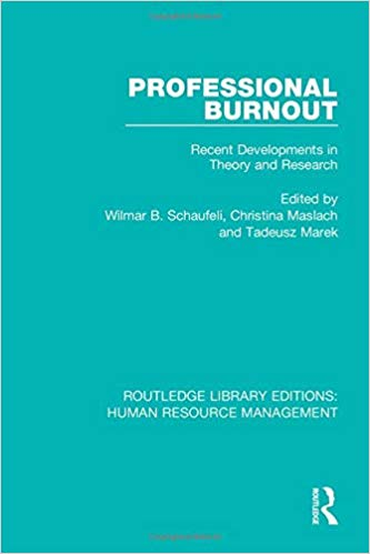 Professional Burnout (Routledge Library Editions: Human Resource Management)