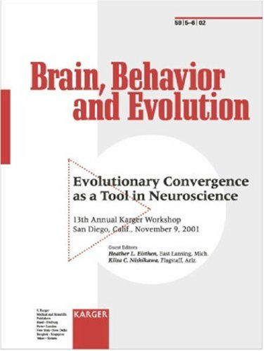Evolutionary Convergence as a Tool in Neuroscience: 13th Annual Karger Workshop, San Diego, Calif., November 2001 (Brain, Behaviour & Evolution)
