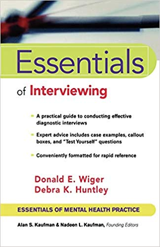 Essentials of Interviewing