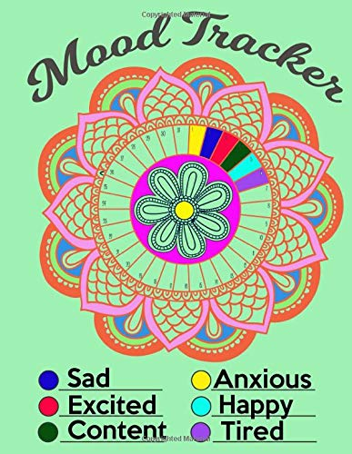 Mood Tracker: Fitness Health Feelings Journal | Understand Your Emotions | Create Happier And Healthier Lifestyle