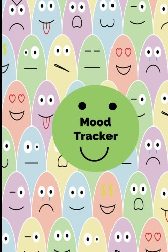 Mood Tracker: Mood Journal, Monitor Your General Wellbeing, Anxiety and Depression Levels with our Handy Mood Diary, A Year /52 Weeks Feelings and ... Book, Handy Notebook 6x9 Paperback (Volume 8)