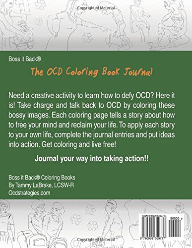 The OCD Coloring Book Journal