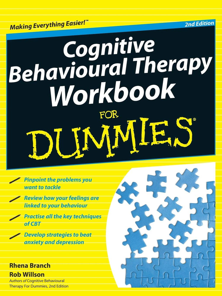 Cognitive Behavioural Therapy Workbook For Dummies, 2nd Edition