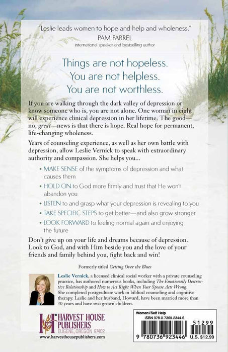 Defeating Depression: Real Hope for Life-Changing Wholeness