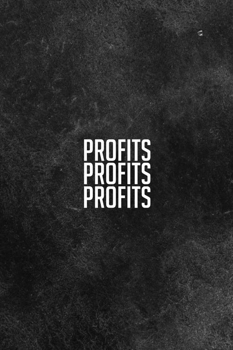 "Profits Profits Profits: Handy Matched Betting Offer Organiser - Tax Free Money Side Hustle -  6 x 9"" Inch, 120 Lined Pages For Tracking Offers, Free Bets, Reminders, Profits, To do List, Etc"