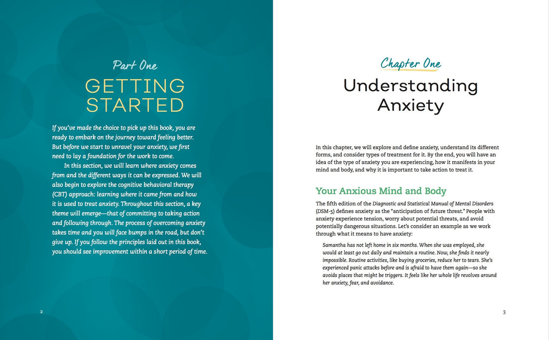 The Anxiety Workbook: A 7-Week Plan to Overcome Anxiety, Stop Worrying, and End Panic