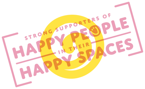 Kitschy Lemon's Strong Supporters of Happy People in Their happy Spaces Badge