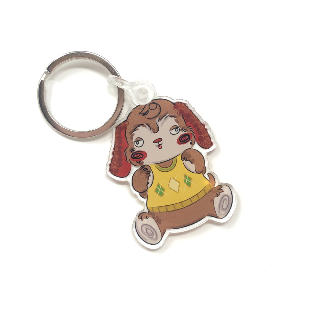 Bear-y Cute Keychain