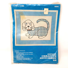 Load image into Gallery viewer, Coats & Clark Gingham Dog Creative Stitchery Kit