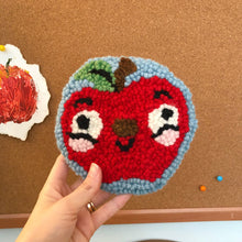 Load image into Gallery viewer, Crazy Happy Apple Forever Mug Rug