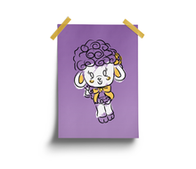 Load image into Gallery viewer, Purple Lamb Print