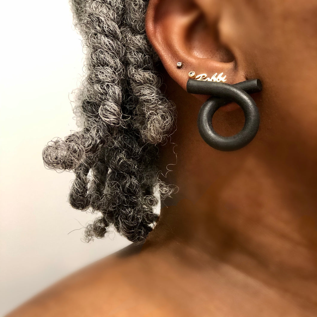 Loop Stud Black-This style needs a name. It could be yours!