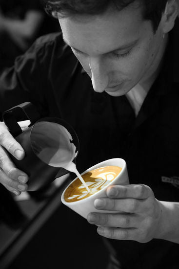 Latte Art with Anthony Calvez - French Latte Art Champion