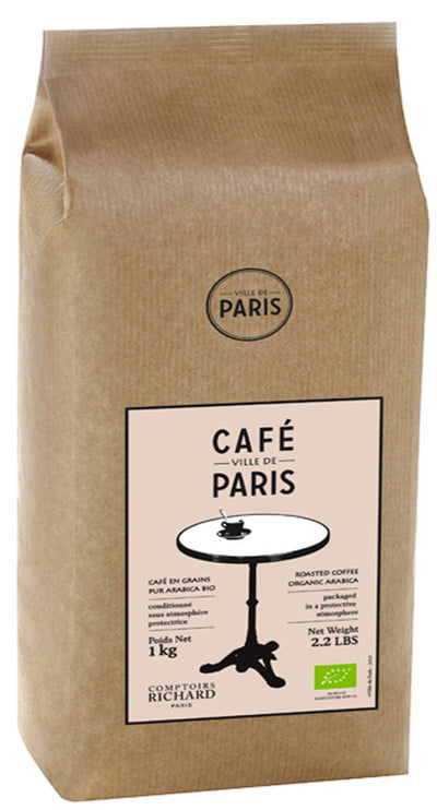 Organic Café Ville de Paris, Whole Bean