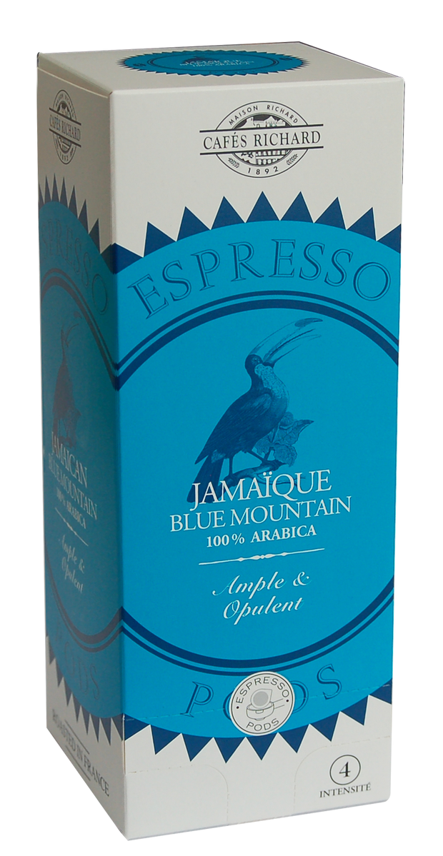Jamaïque Blue Mountain Pods