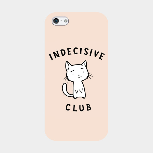 Pastel Pink Indecisive iPhone Case