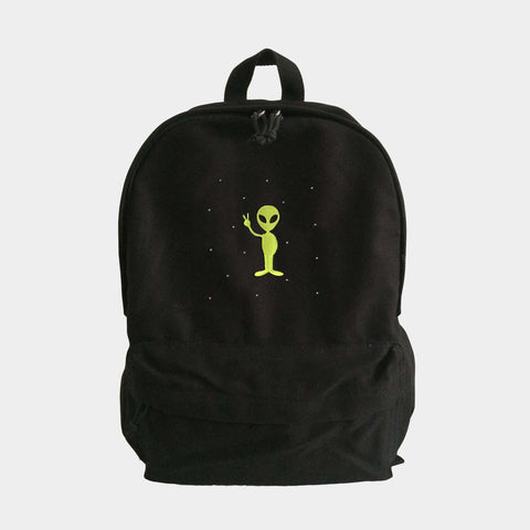 Space Alien Backpack