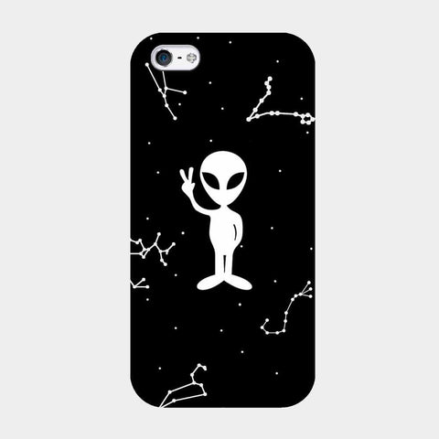Space Alien iPhone Case