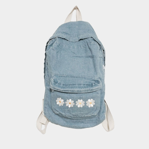Daisy Denim Backpack