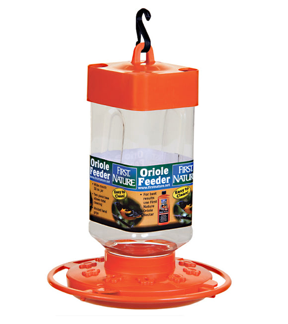 First Nature Oriole Feeder 32 oz - Hummingbird Market of Tucson, Arizona. Feeders and Nectar