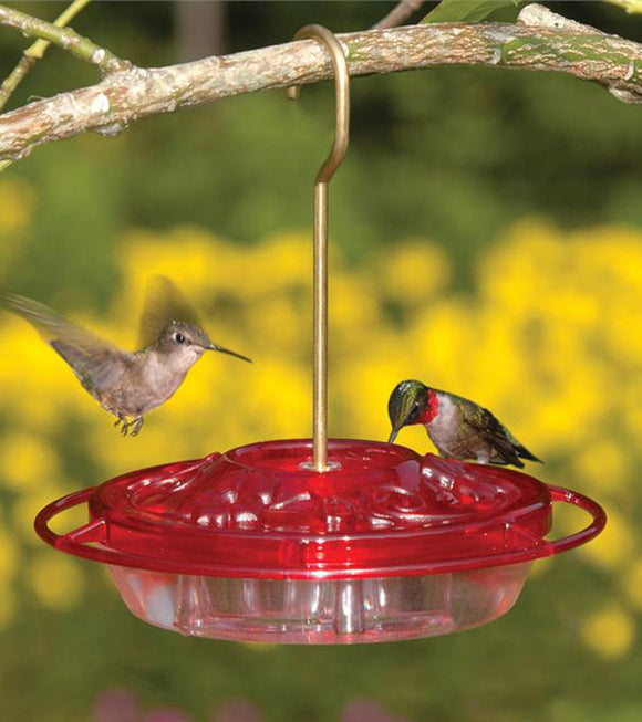 Aspects HummZinger® 8oz Little Fancy Rose - Hummingbird Market of Tucson, Arizona. Feeders and Nectar