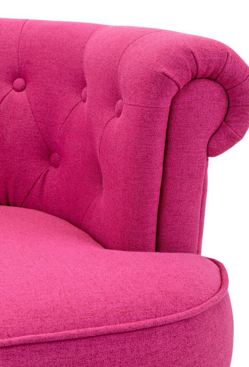 Molly Pink Club Chair IMAX