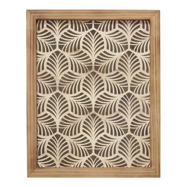 Wild Leaf Wood Framed Wall Art Wall Decor HomeRoots
