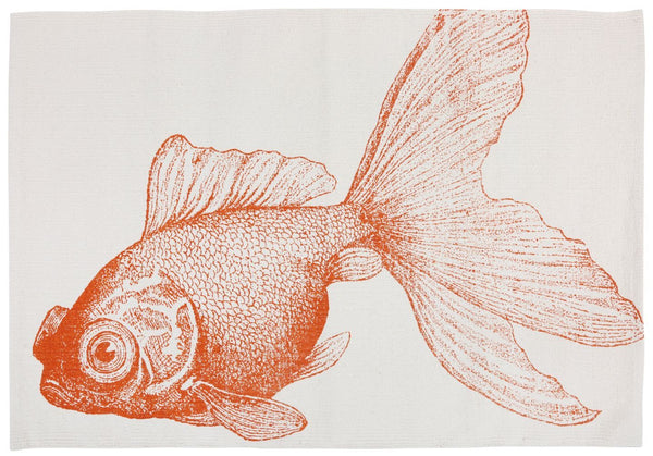 "WRITE ME Goldfish Bath Mat 24""x36"" Thomas Paul"