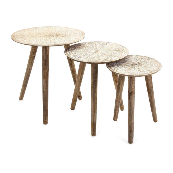 Write Me Cashel Round Tables - Set of 3 Imax