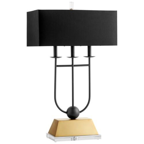 Write Me Euri Table Lamp Cyan