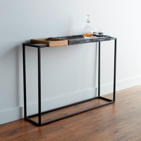 Lanvin Console Table Cyan