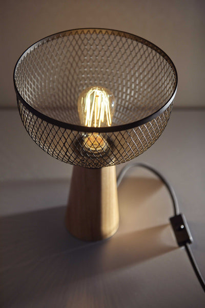 Gunnar Industrial Torch Table Lamp HomeRoots.co