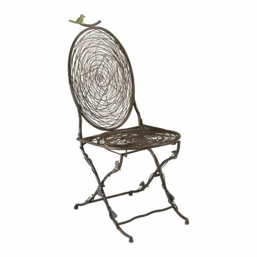 Poe Bird Bistro Chair Brookasa