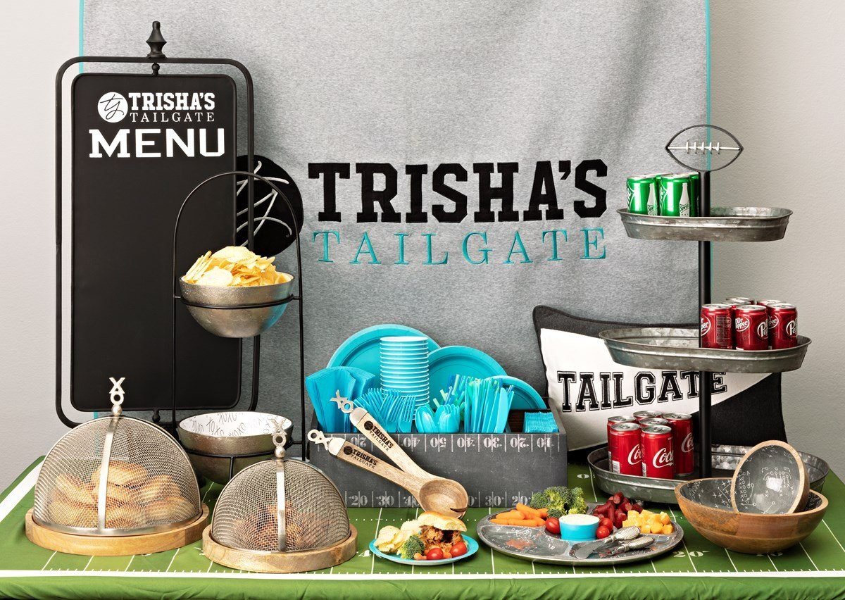 Write ME TY Tailgate Food Screen With Wood Base - Set of 3 IMAX