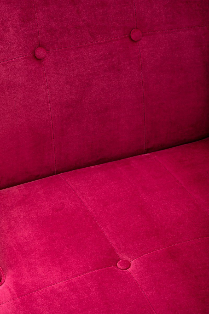 Write Me Ruby Velvet Accent Chair IMAX