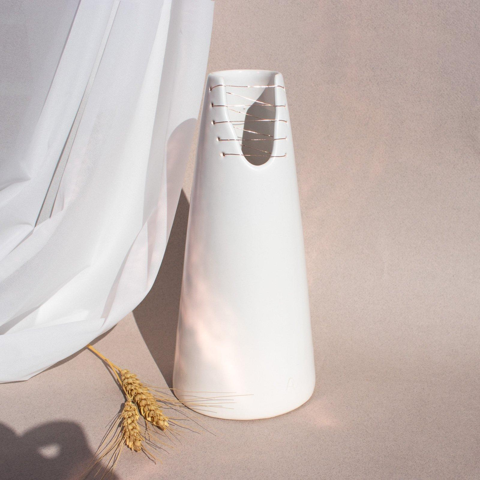 "Alta Limited Edition ""Stitches Collection"" Vase Ayadee"