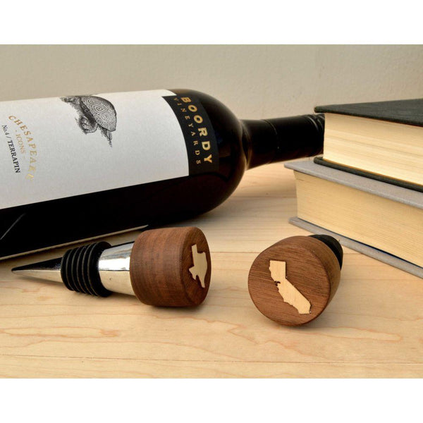 WRITE ME Wine Stopper Autumn Woods Collective