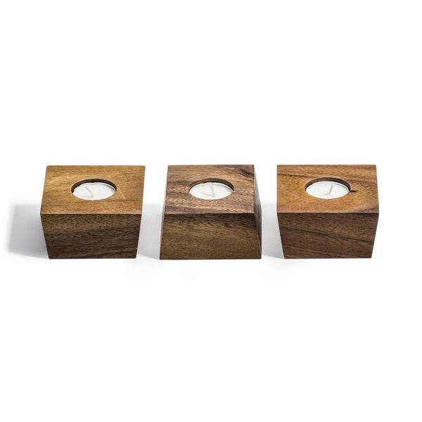 'Trian' Set of 3 Candle Holders Kalmar Home