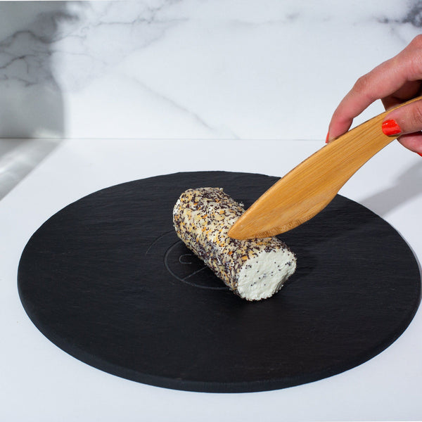 Cantata Circular Slate Cheese Board Cheese Grotto