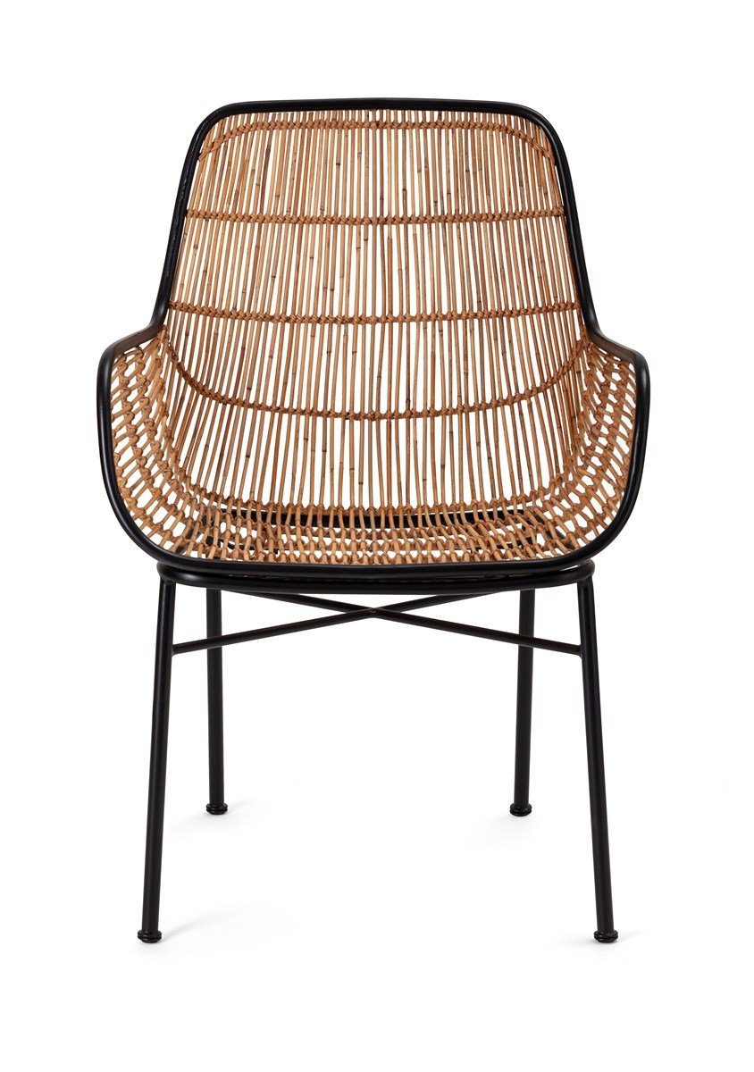 Write Me Carrera Woven Wicker Chair IMAX IMAX