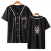 Demon Slayer Column Logo Baseball Shirt - Ikuzo Concept