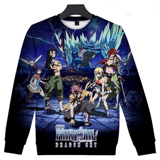 Fairy Tail Dragon Cry Crewneck - Ikuzo Concept