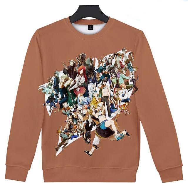 Fairy Tail Guild Juxtaposed Crewneck - Ikuzo Concept