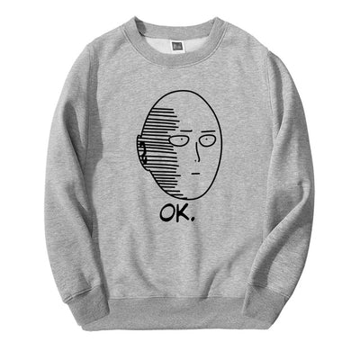 One Punch Man OK Crewneck - Ikuzo Concept