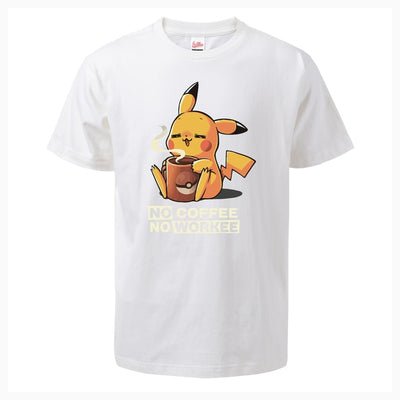 Pikachu No Coffee No Workee - Ikuzo Concept