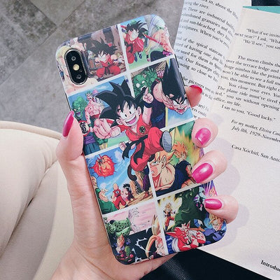 Dragon Ball Childhood Phone Cases - Ikuzo Concept