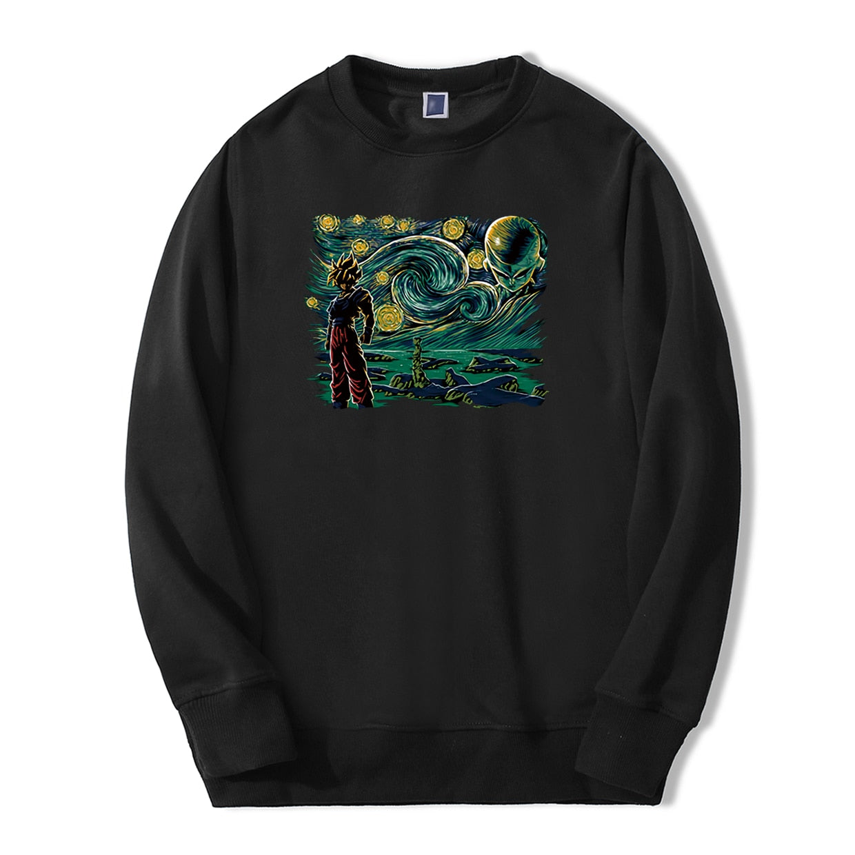 Dragon Ball Starry Night Crewneck - Ikuzo Concept
